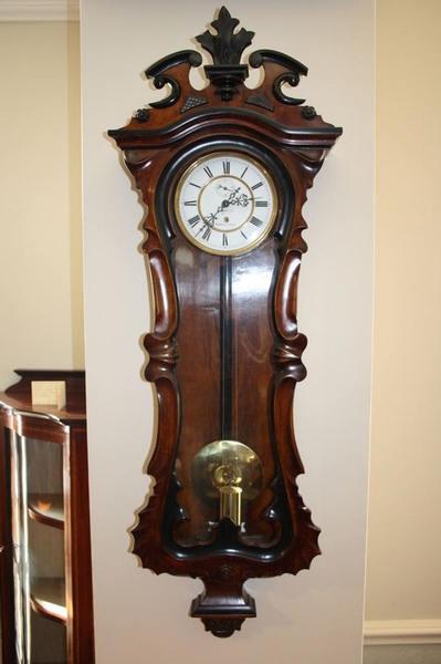 Antique Vienna clock sn004