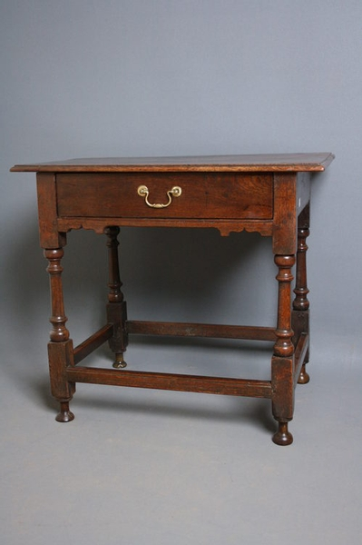 Period Oak Side Table