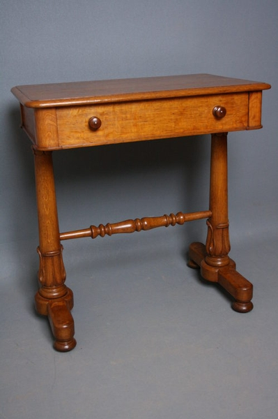 William IV Oak Side Table