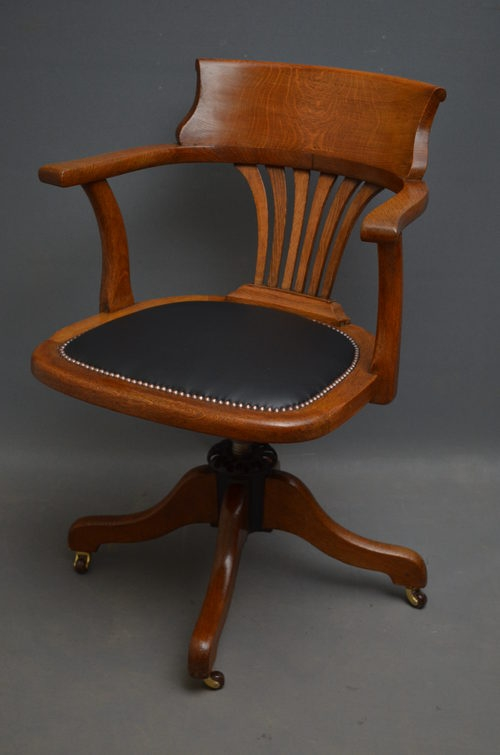 Antique Desk Chair sn2635