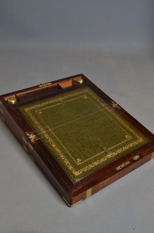 Antique Victorian Writing Slope sn2672