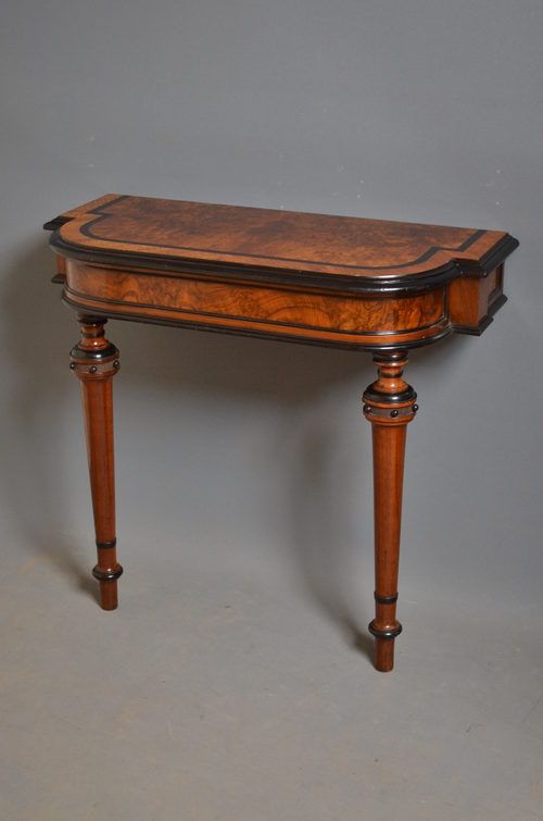 Antique Victorian Console Table sn2736