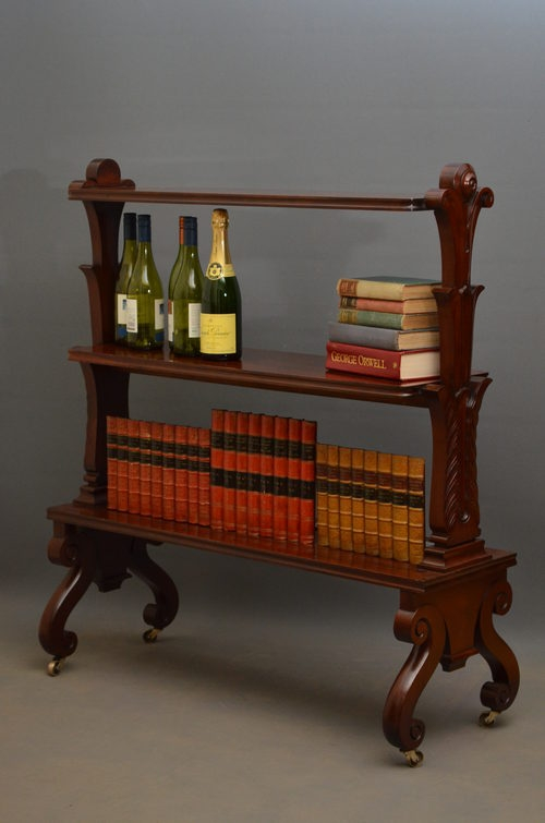 William IV 3 Tiere Bookcase / Stand Sn2739