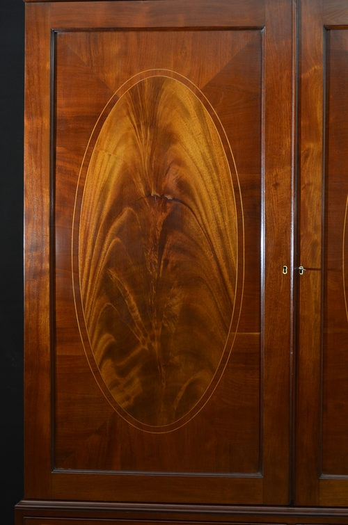 Antique Regency Wardrobe SN2776