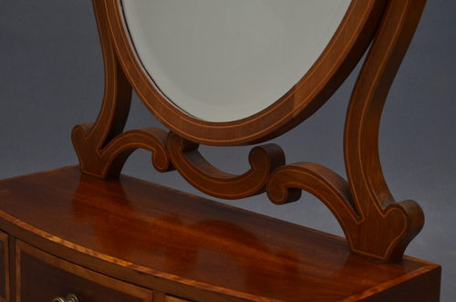 Antique Edwardian Toilet Mirror sn2769A