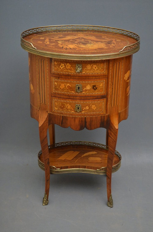 Antique French Occasional Table Sn2862