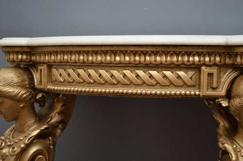 Antique Victorian Console Table SN2864