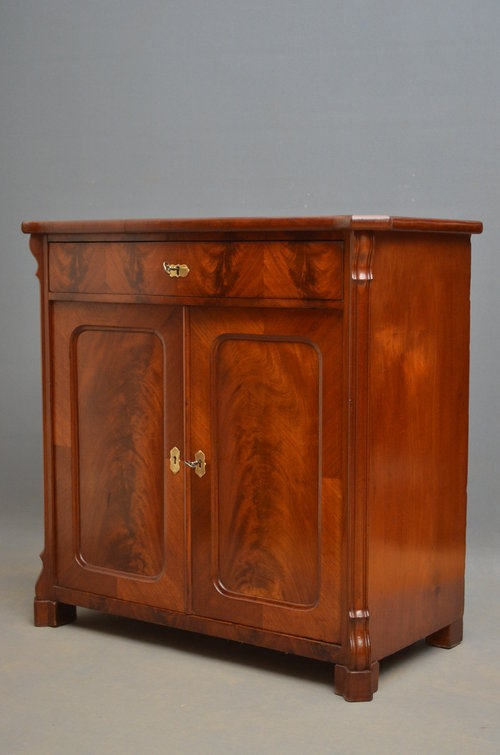 Antique Small Continental Chiffonier - Sideboard Sn2906
