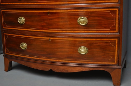 Antique Georgian Chest of Drawers Sn2881