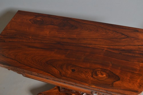 Antique Excellent William IV Rosewood Card Table Sn2937