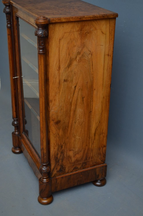 Antique Victorian Music Cabinet Sn2994