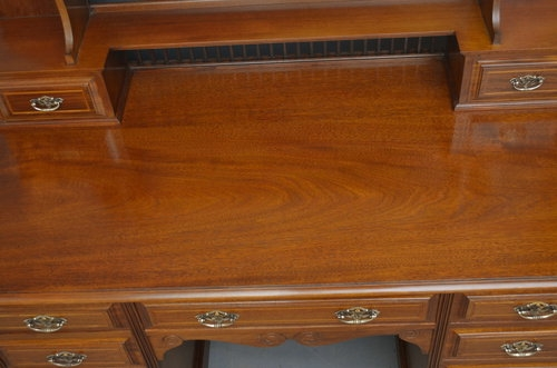 Antique Exceptional Edwardian Dressing Table Sn3020