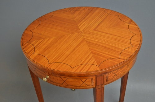 Antique Elegant Edwardian Occasional Table Sn3011