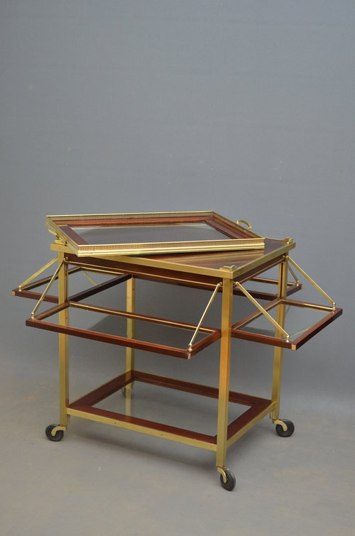 Antique Exceptional Drinks Trolley - Tea Trolley Sn3053