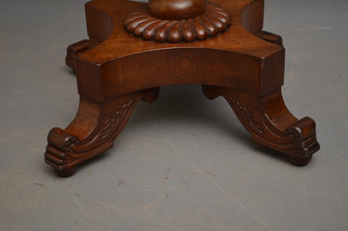Antique William IV Occasional Table Sn003