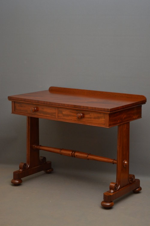 William IV Side Table / Writing Table Sn3125