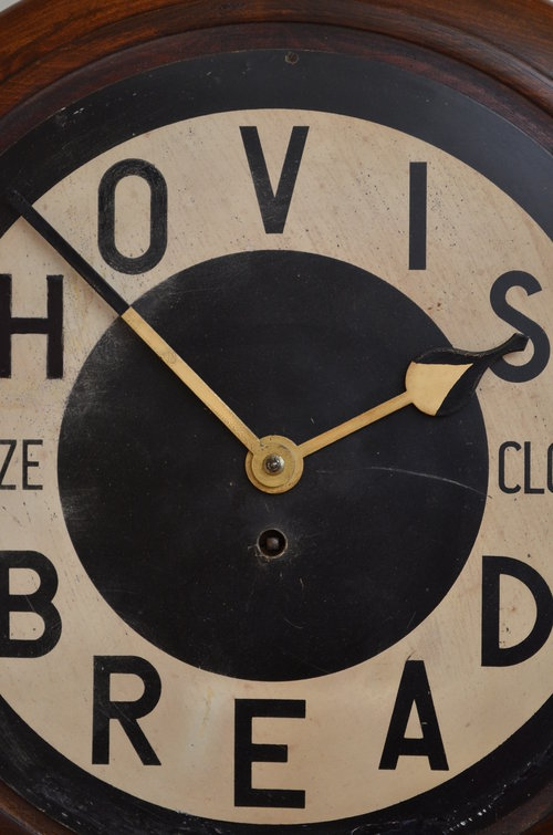 Antique Hovis Prize Clock - Wall Clock Sn3121