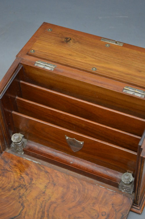 Antique Victorian Stationary Box Sn013