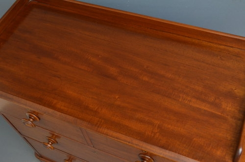 Antique Victorian Mahogany Chest of Drawers  sn3467