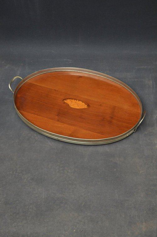 Attractive Edwardian Mahogany Tray Sn3488