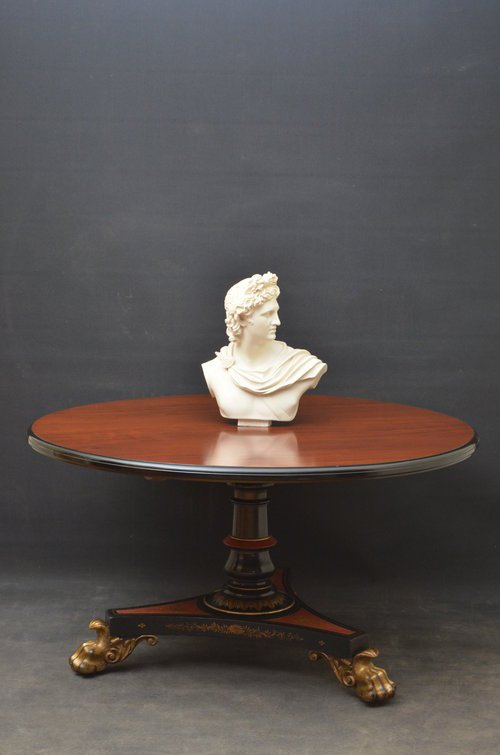 Exceptional William IV Centre Table Sn3500