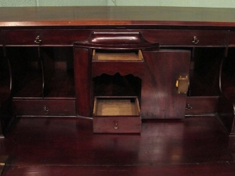 Antique Antique Georgian Mahogany Bureau c1780 w4537/17.3