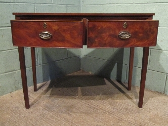 Antique ANTIQUE GEORGIAN REGENCY MAHOGANY BOW FRONT SIDEBOARD W7185/12.11