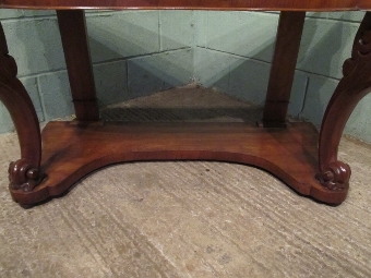 Antique ANTIQUE VICTORIAN MAHOGANY & MARBLE DUCHESSE WASHSTAND C1880 W7312/18.2