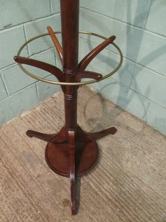 Antique ANTIQUE EDWARDIAN MAHOGANY HALL STAND C1900 W7479/10.6