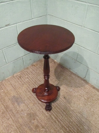 Antique Antique William 1V Mahogany Side or Lamp Table c1830 w7563/9.9
