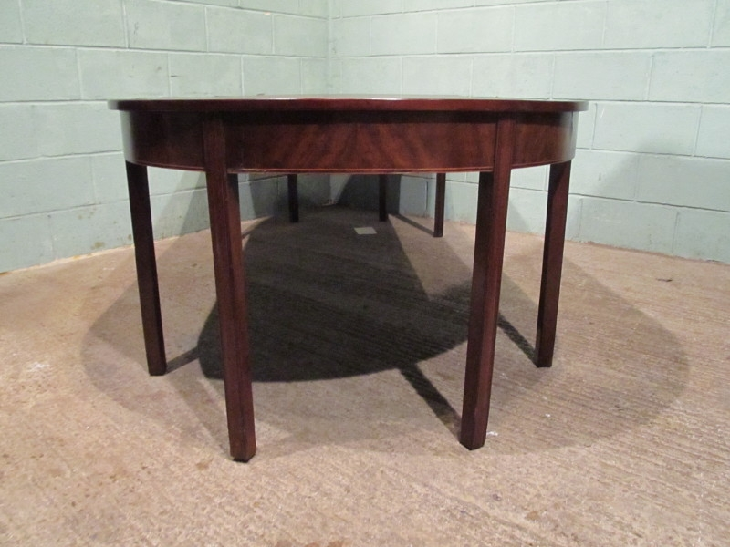 Antique ANTIQUE GEORGIAN REGENCY MAHOGANY EXTENDING DINING TABLE SEATS 10 W7140/30.10