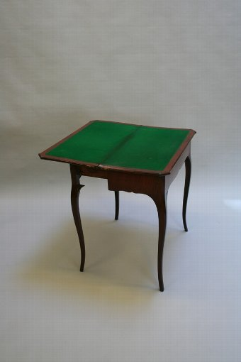 Antique French Card Table