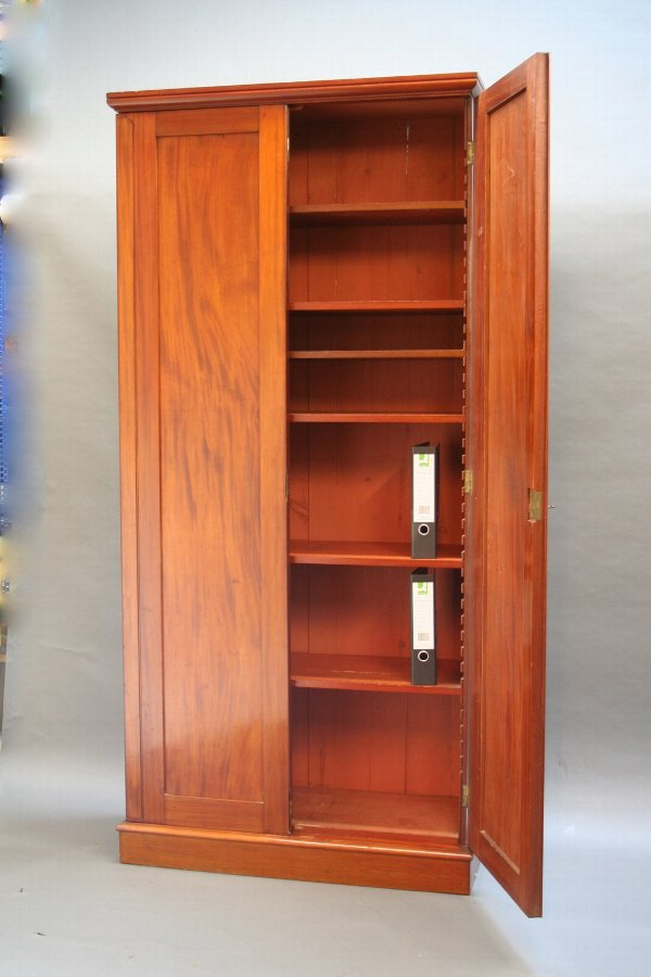 C19th  bookcase cabinet of tall proportions