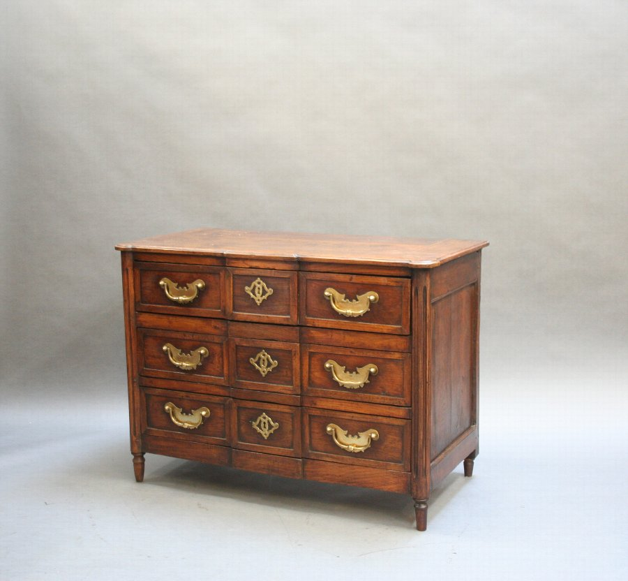 C18th French Provincial commode chest