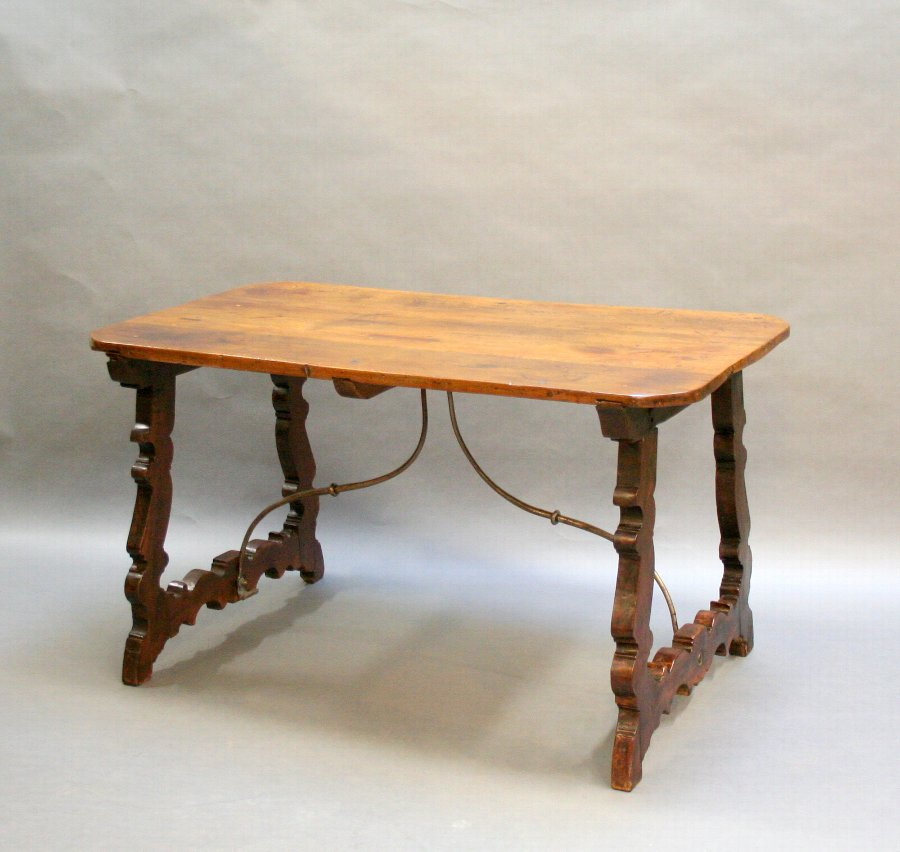 C19th Spanish dining writing table