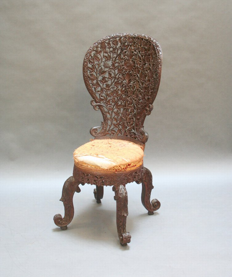 C19th Indian side chair