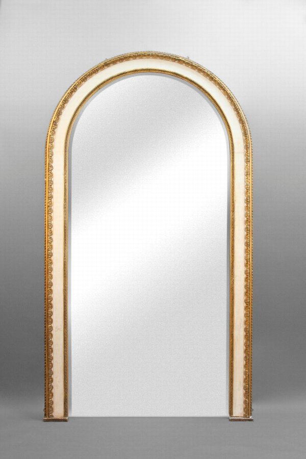 Exceptional Large C19th Gilt Pier Hall Mirror