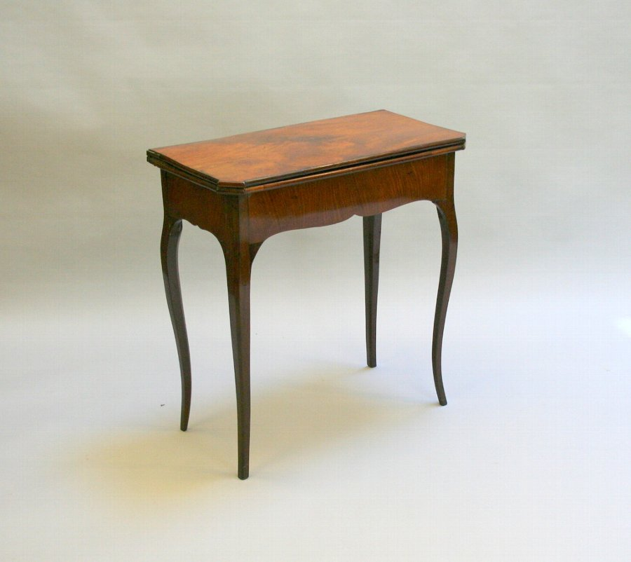 French Card Table