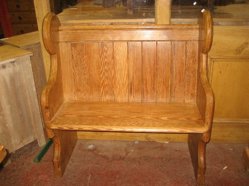 Pitch Pine Pew