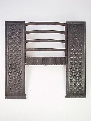 Antique Antique Gerogian Hob Grate - Regency Cast Iron Fire place Front Hobgrate Grill