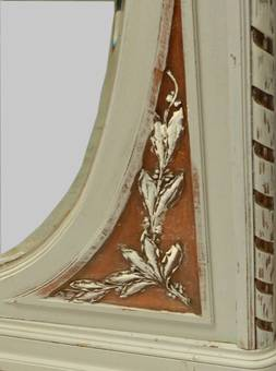 Antique French Armoire painted C19 Louis XVI