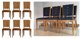 Antique Art Deco Dining Chairs source  customize Mid Century