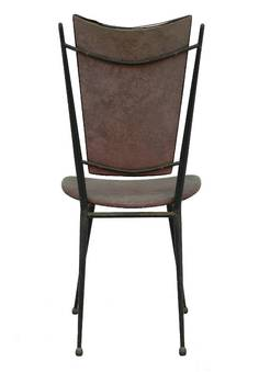 Antique Six Midcentury Dining Chairs French to Restore Recover and Customize