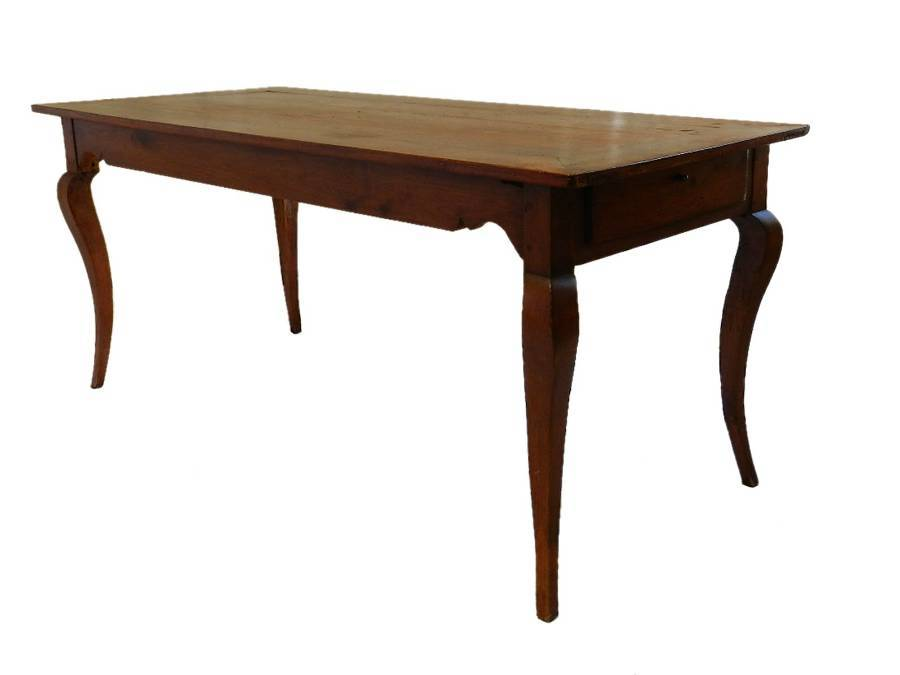 Late C18 French Farmhouse Dining Table Cherry wood