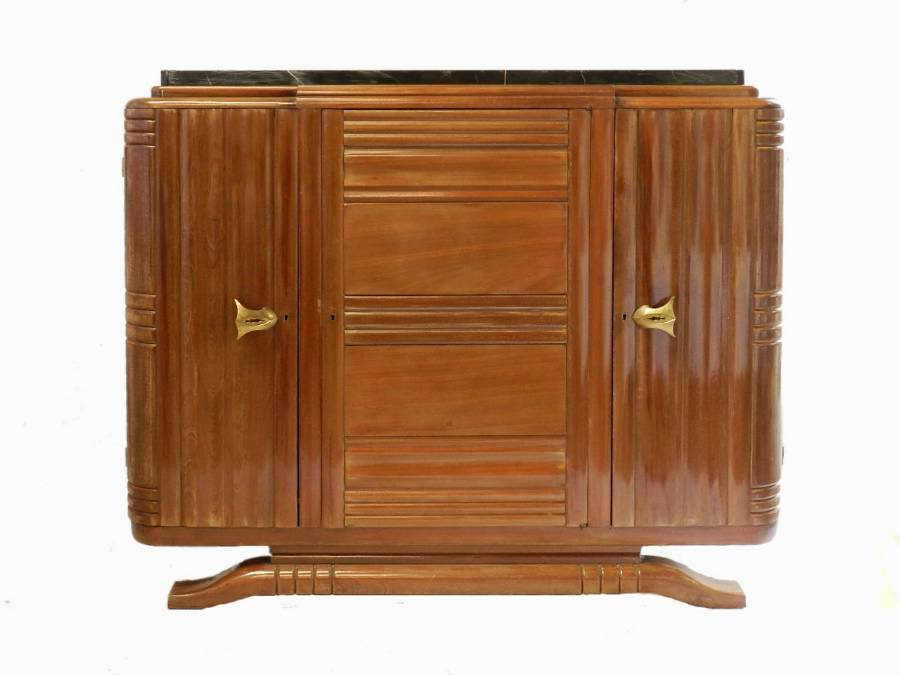 French Art Deco Buffet Sideboard one of a Pair available