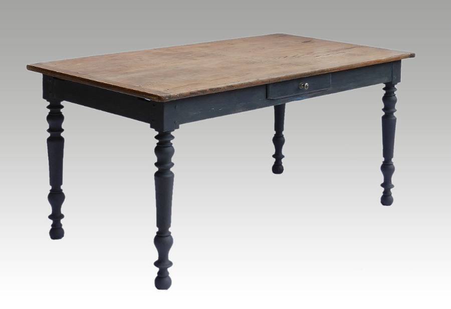 C19 French Farmhouse Table Country Kitchen Dining