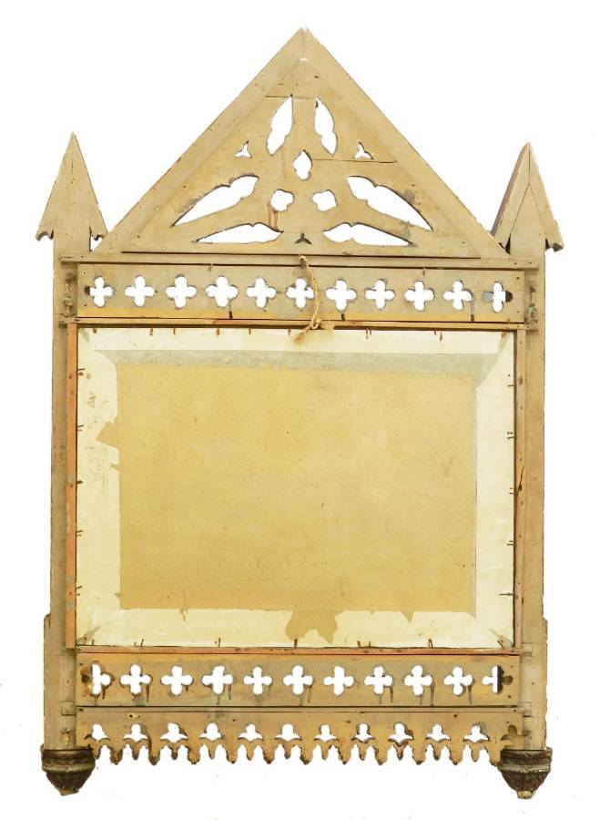 Antique 19th Century Gothic Wall Mirror Frame No2 two available see other listings