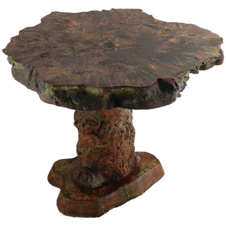 Antique Root Table Olive Wood Center or Side Organic Table circa 1920