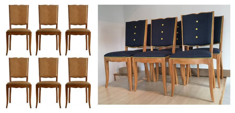 Art Deco Dining Chairs source  customize Mid Century