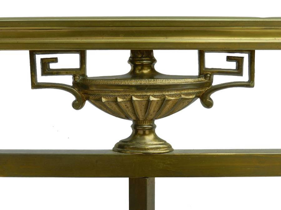 Antique Brass Bed 19th century French Empire UK King US Queen size